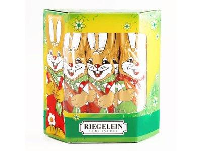 Riegelein Riegelein Solid Easter Bunny 10pk