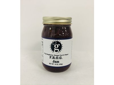 Peters Gourmet Foods PGM FROG Jam 16 oz