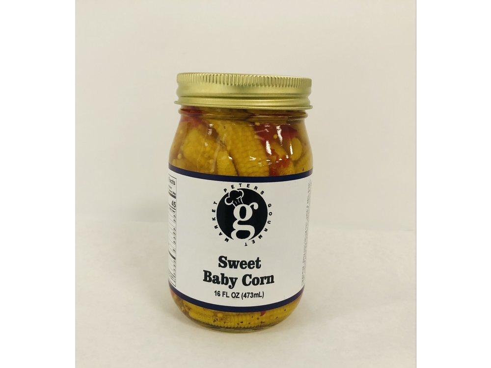 Peters Gourmet Foods PGM Sweet Baby Corn 16 oz