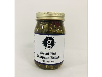 Peters Gourmet Foods PGM Sweeet Hot Jalapeno  Relish 16 oz
