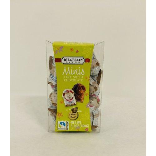 Riegelein Riegelein Milk Chocolate Lambs 3.5oz
