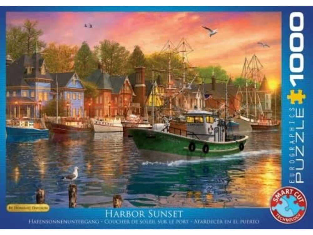 Games Puzzle Harbor Sunset 1000 pc