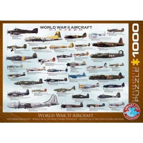 Games Puzzle World War 2 Aircraft 1000 pc