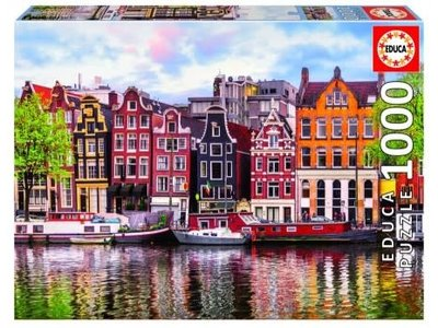 Games Puzzle Canel Houses Amsterdam 1000 pc