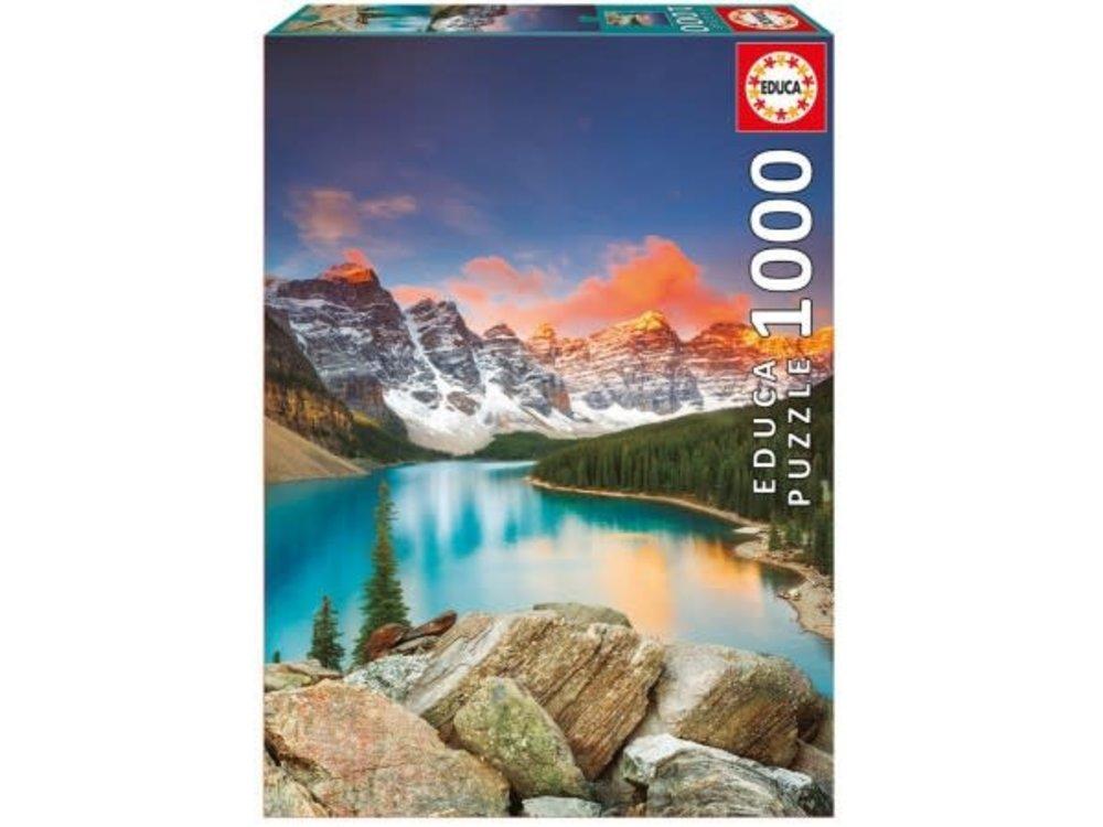 Games Puzzle Lake Moraine National Park Canada 1000 pc