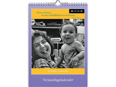 Birthday Calendar Modern Essence of Human Life