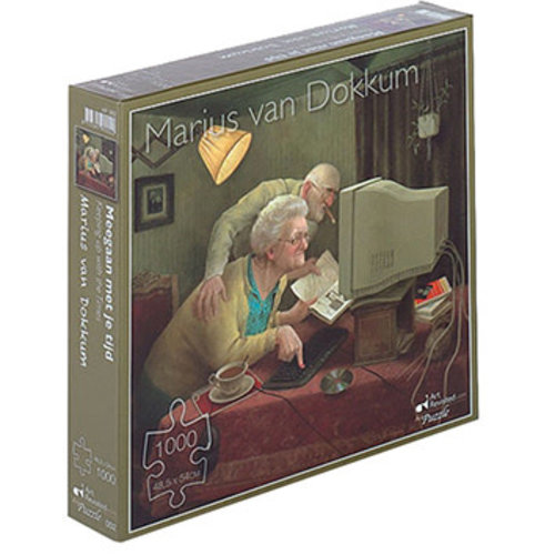Games Puzzle Marius van Dokkum Keeping Up With the Time 1000 pc