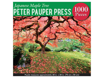 Games Puzzle - Japanese Maple Tree 1000 pc