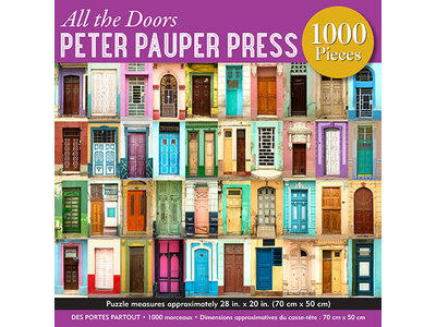 Games Puzzle - All the Doors 1000 pc Puzzle 28in x 20in