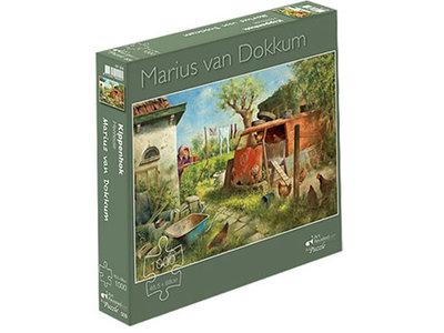 Games Puzzle Chicken Coop Marius Van Dokkum 1000 pc