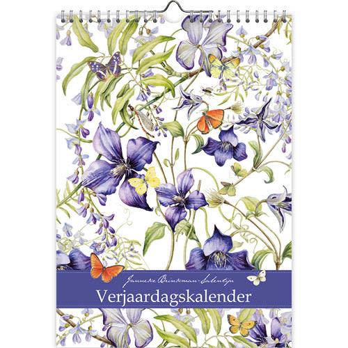 Calendars Janneke Brinkman Blue Rain Birthday Calendar