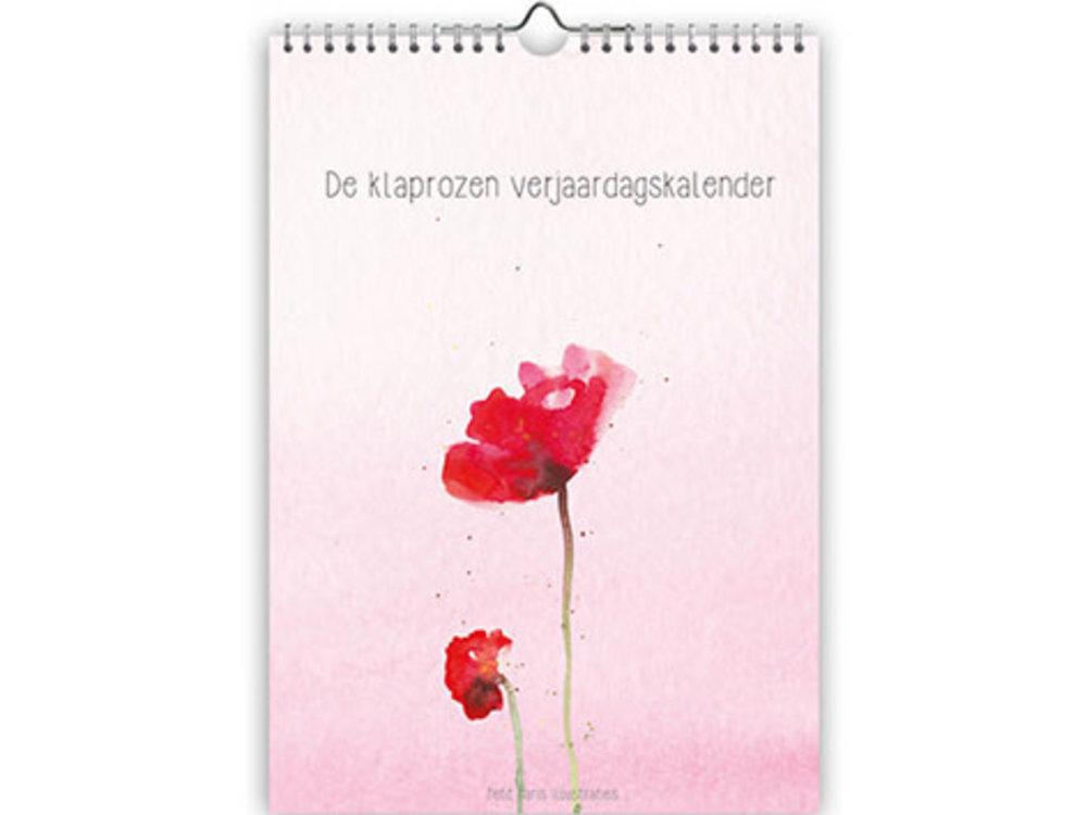 Calendars Birthday Calendar Poppies