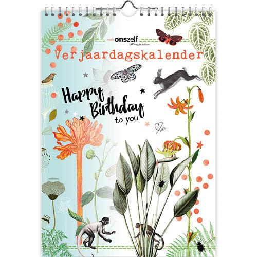 Happy Birthday to You Birthday Calendar