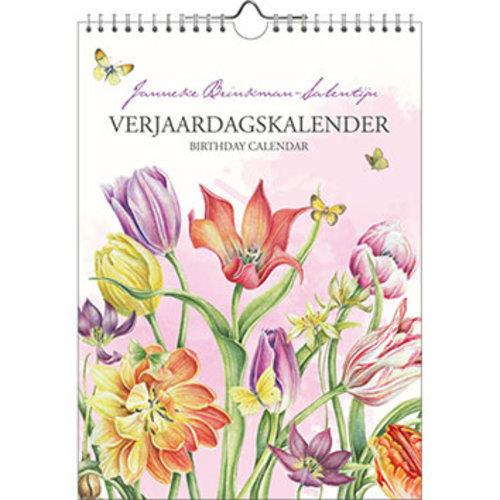 Janneke Brinkman Tulip Birthday Calendar
