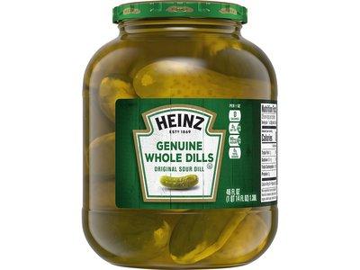 Heinz Heinz Pickle Genuine Dill 46 Oz Jar