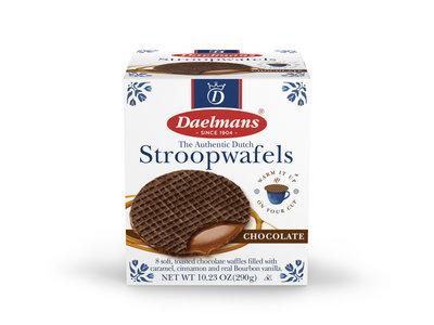 Daelmans Daelmans Jumbo Chocolate Stroopwafels