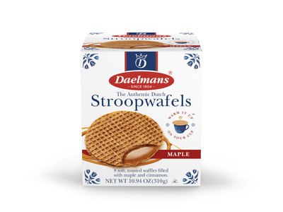 Daelmans Daelmans Jumbo Maple Stroopwafel Cube box