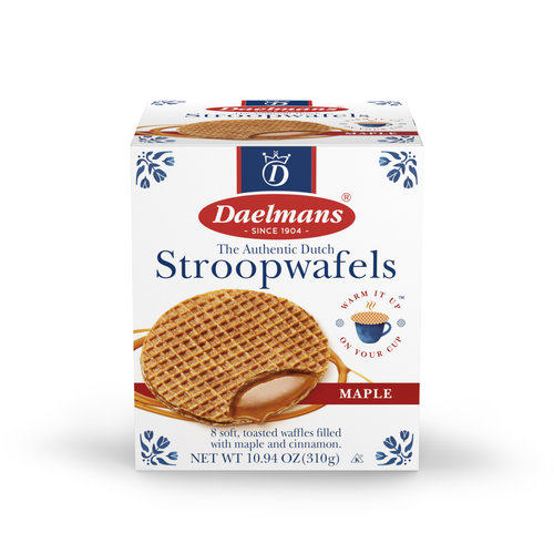 Daelmans Daelmans Jumbo Maple Syrupwafer in Box 10.94 oz