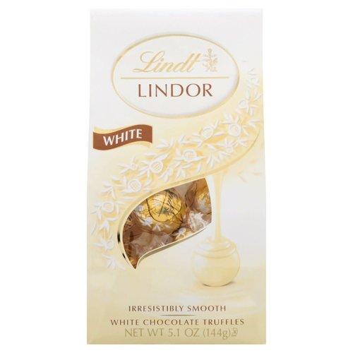 Lindt 12Ct White Truffle Bag 6/cs