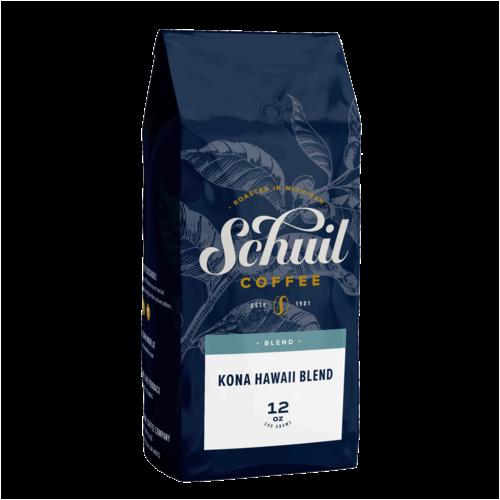 Schuil Schuil Kona Hawaii Medium Blend Coffee 12oz