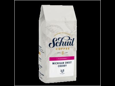 Schuil Schuil Michigan Sweet Cherry Flavored Coffee 12oz