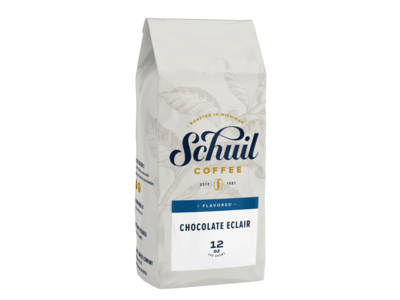 Schuil Schuil Chocolate Eclair Flavored Coffee 12oz
