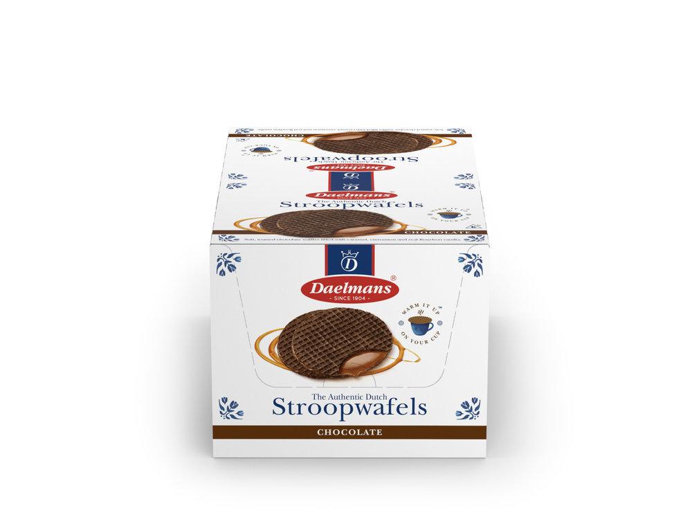 Daelmans Daelmans Chocolate Caramel Wafer box of 12 2 packs