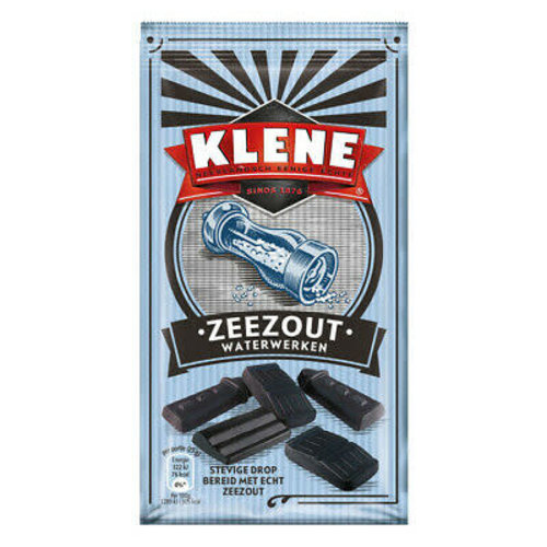 Klene Klene Hard Salty Licorice Waterweken 7 oz