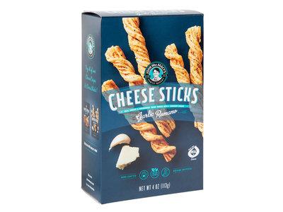 John Macys Garlic Romano Cheese Stick 4 oz