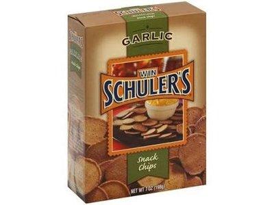 Win Schulers Garlic Snack Chips 7 oz