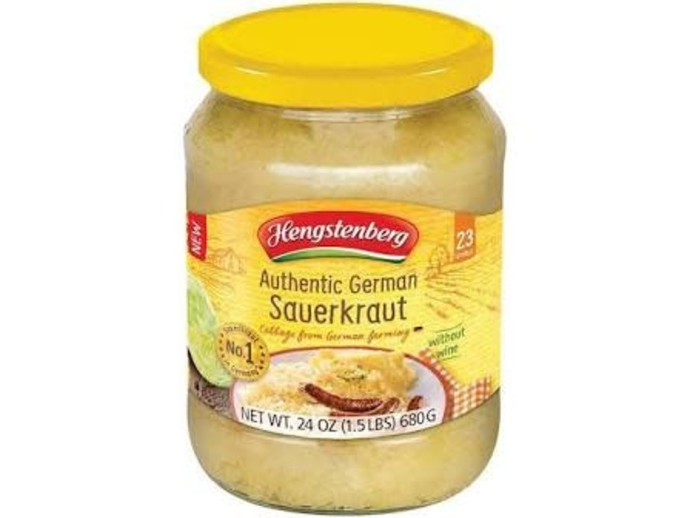 Hengstenberg Hengstenberg German Sauerkraut 24oz Jar