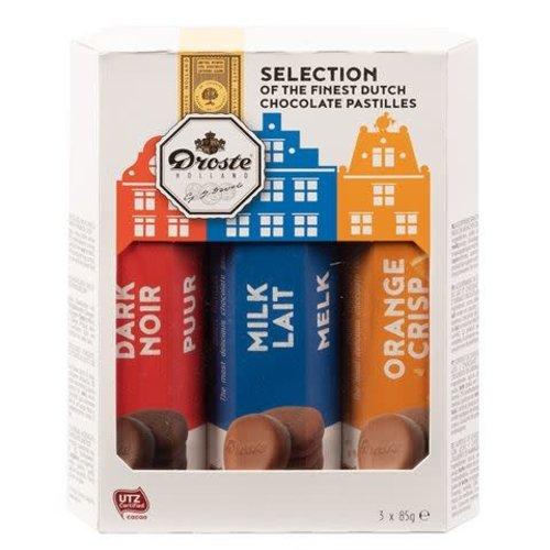 Droste Droste 3 Pastilles Roll Gift Pack 10.4 Oz
