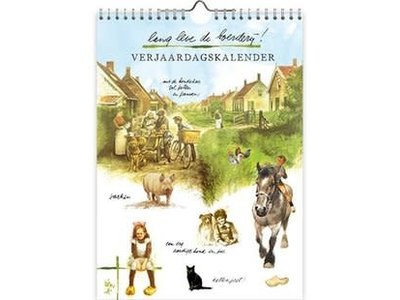 Rien Poortvliet Long Live the Farm Calendar 7in x 10in
