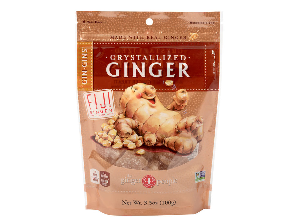 Ginger People Ginger People Crystallized Ginger Candy 3.5 oz
