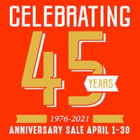45th Anniversary - 1976-2021