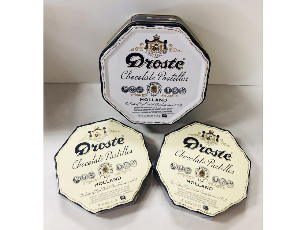 Droste Droste Gift Tin 2 - 6 oz Assorted Pastilles