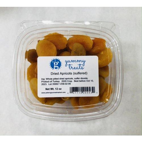 Albanese Turkish Dried Apricots 12 oz tub