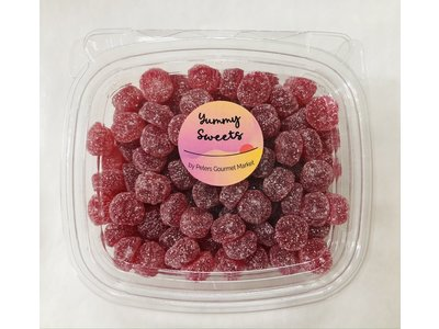 Gustafs Gustafs Sour Cherry Buttons 12 oz tub