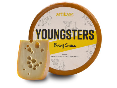 Artikaas Artikaas  Baby Swiss Cheese per lb