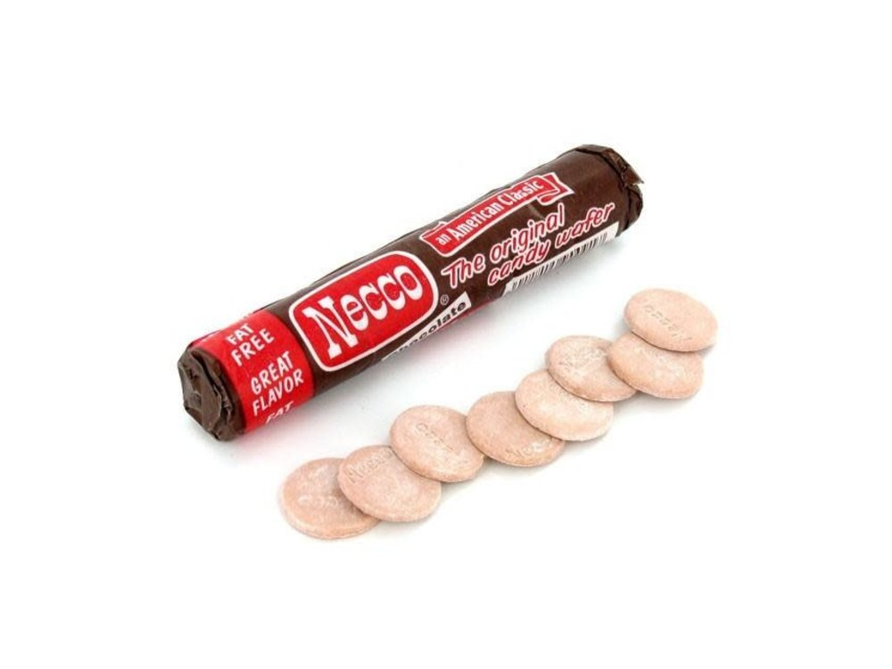 Necco Chocolate Wafers 2 oz