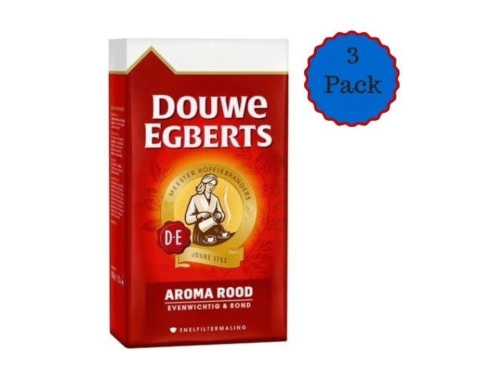 Douwe Egberts Douwe Egberts Aroma Rood 3 PACK 17.6 Oz