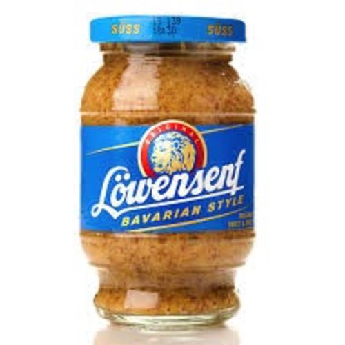 Lowensenf Barvarian Style Sweet Mustard 10 oz
