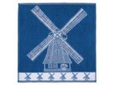 Twentse Twenste Dutch Mill HAND Towel blue