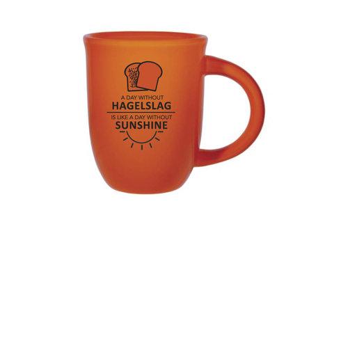 Hagelslag & Sunshine Mug 14 oz ORANGE