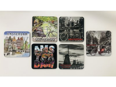 Amsterdam coasters
