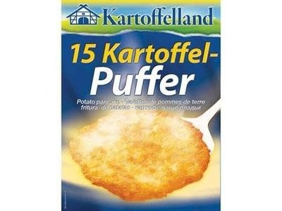 Grocholl Kartof Potato Pancakes in Box 5.255 oz 12/cs