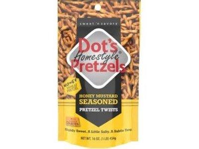 Dots Dots Honey Mustard Pretzels 1 lb bag
