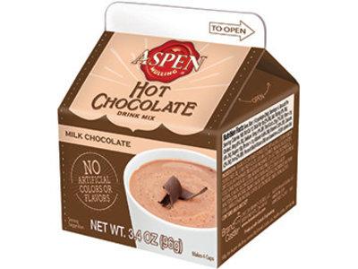 Aspen Hot Milk Chocolate 3.4 Oz Milk Carton Box