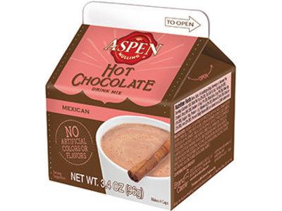 Aspen Mexican Hot Chocolate 3.4 Oz Milk Carton Box
