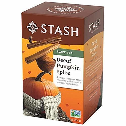 Stash Stash Pumpkin Spice Decaf Tea 18 ct